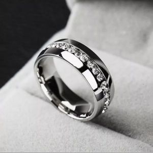 Other - Titanium Stainless Steel Ring/Band Size: 8 Unisex
